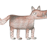 De Grote Wolf - Houten Speelgoed